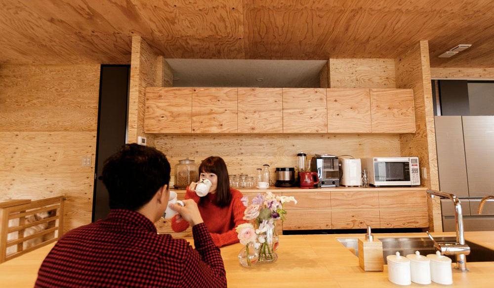 table × キッチン